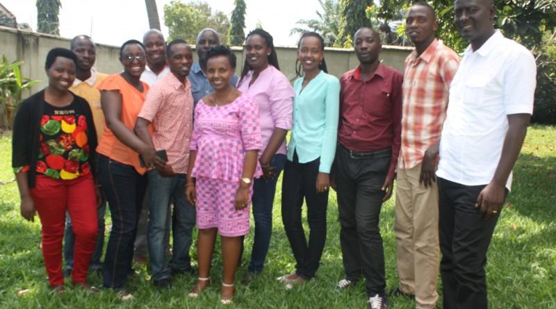 Une nouvelle équipe de l'Alliance Burundaise contre le Sida et pour la promotion de la santé ABS en sigle qui va exécuter le projet TWITEHO AMAGARA