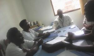 Focus groupe auprès des prestataires de soins publics (CDS RUMONGE)